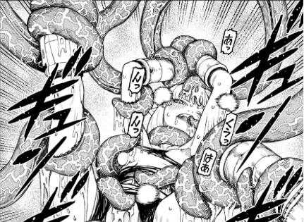 桐葉と触手プレイ / 『つぐもも』第25巻