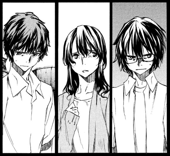 修一とエレナと直人 山田塾の幼馴染『グレイプニル』